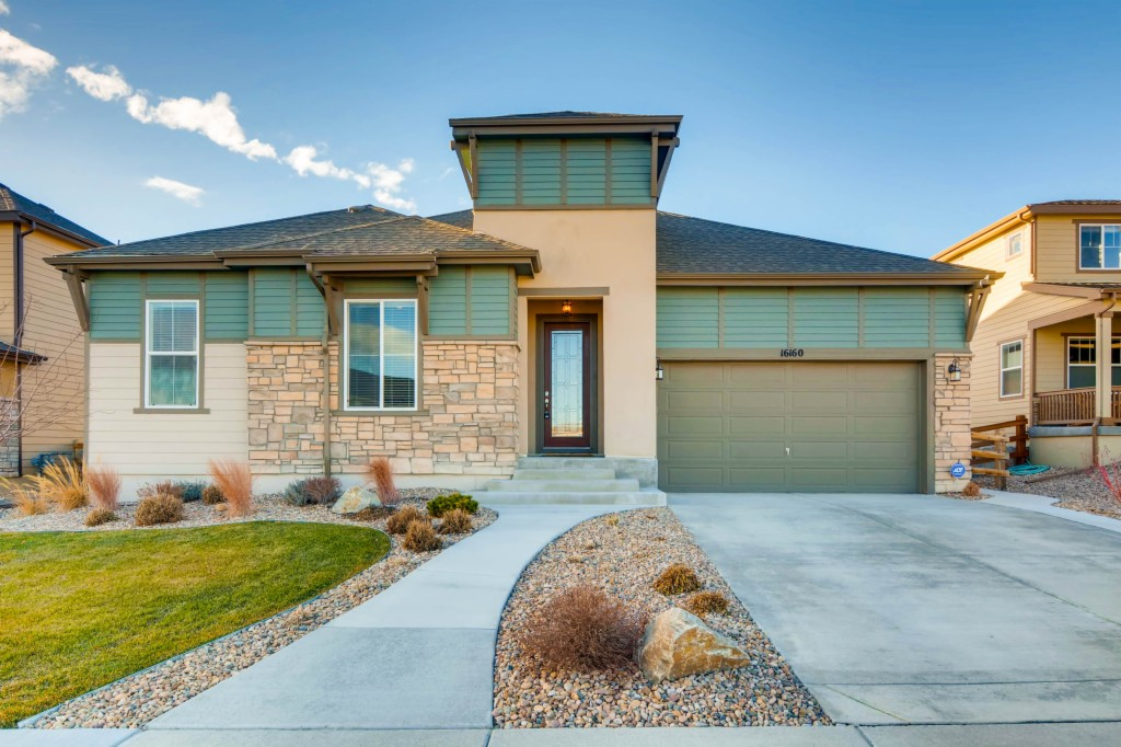 Photo of home for sale at 16160 84th Loop W, Arvada CO