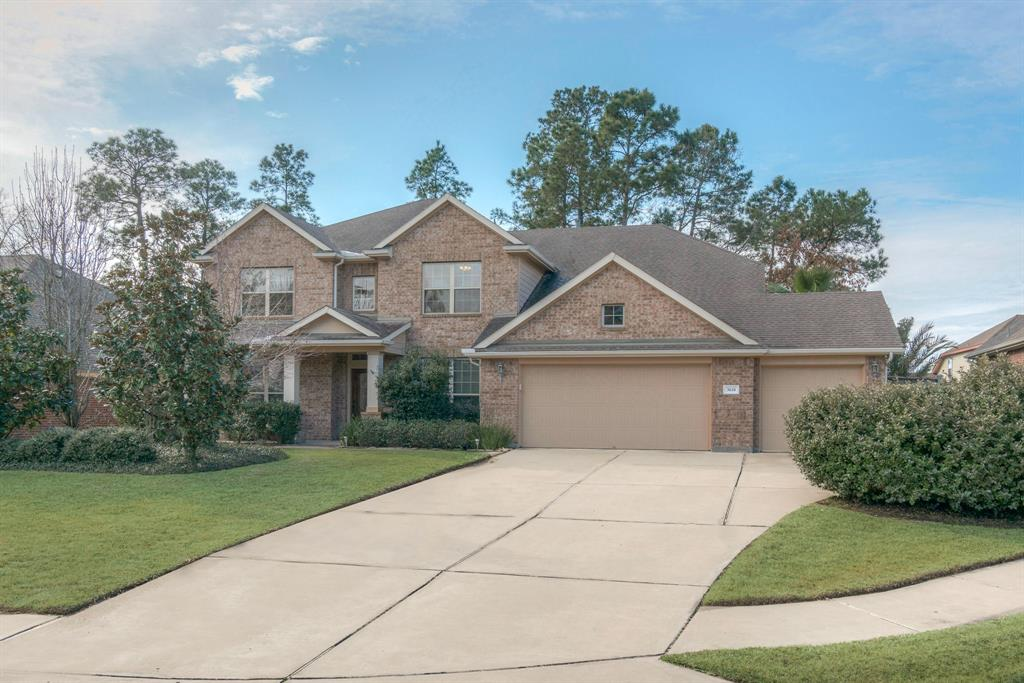 Photo of home for sale at 3610 Andree Forest Court, Spring TX