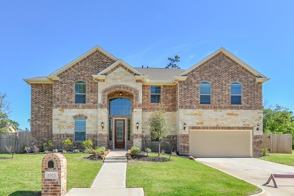Photo of home for sale at 6503 Hoads Deuce Court, Spring TX