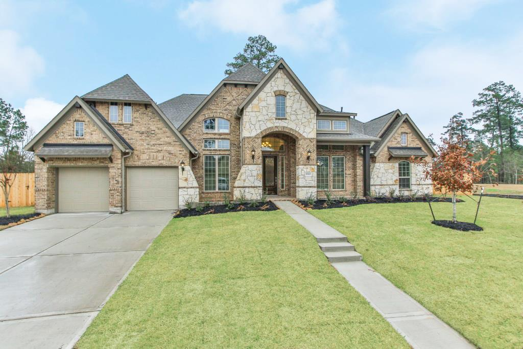 Photo of home for sale at 15702 Gibson Grass Court, Spring TX