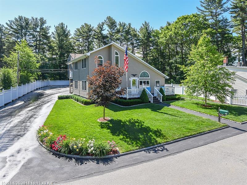 Photo of home for sale at 17 Hillside Ave, Old Orchard Beach ME