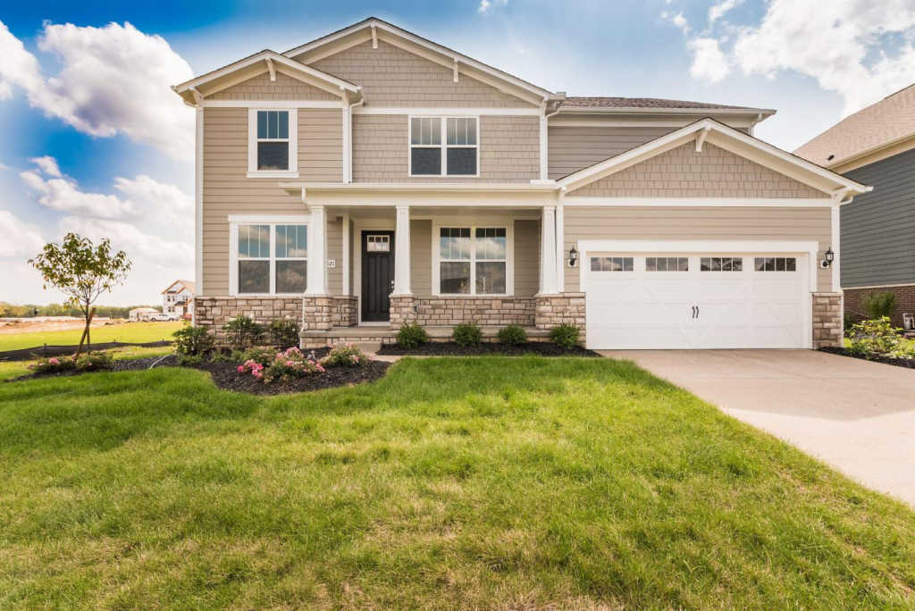 Photo of home for sale at 8021 Finch Leaf Drive, Plain City OH