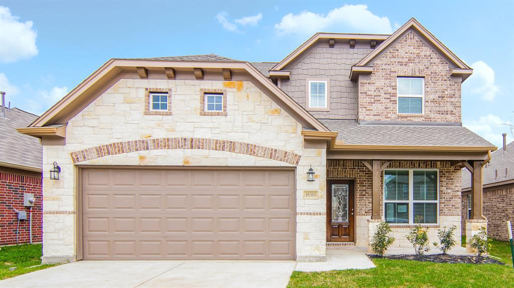 Photo of home for sale at 18303 Spruce Tree Line Trail, Houston TX