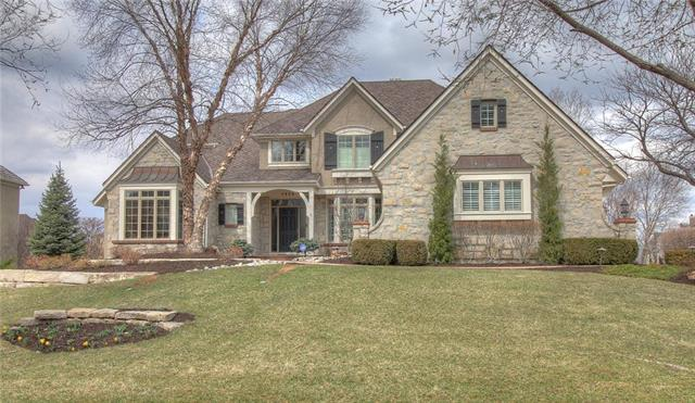 Photo of home for sale at 5804 Golden Bear Drive, Overland Park KS