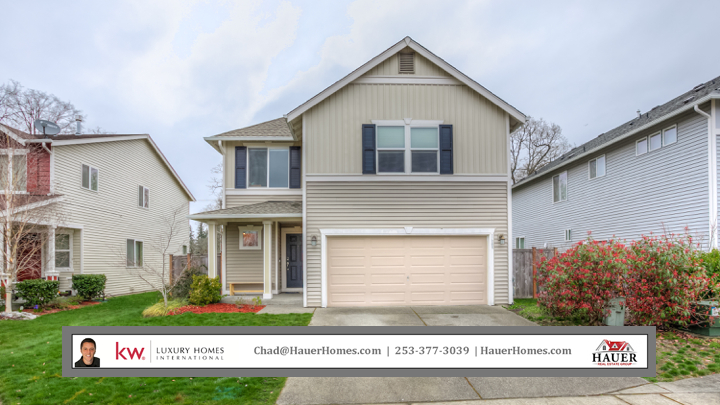 Photo of home for sale at 1609 177th St E, Spanaway WA