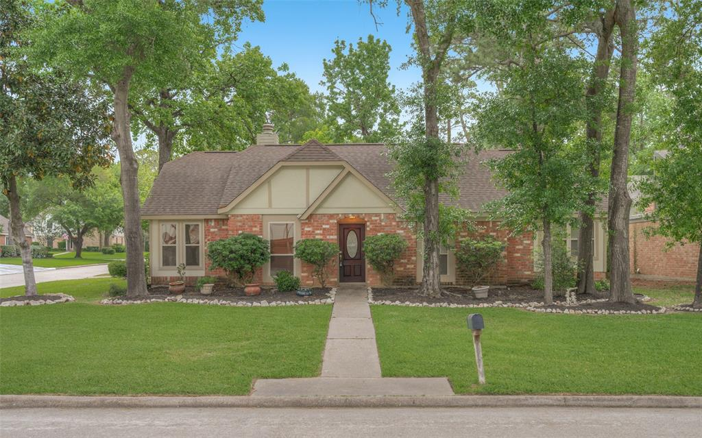 Photo of home for sale at 25022 Butterwick Drive, Spring TX