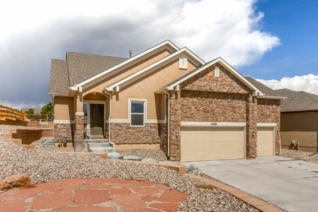 Photo of home for sale at 19983 Lindenmere Drive, Monument CO