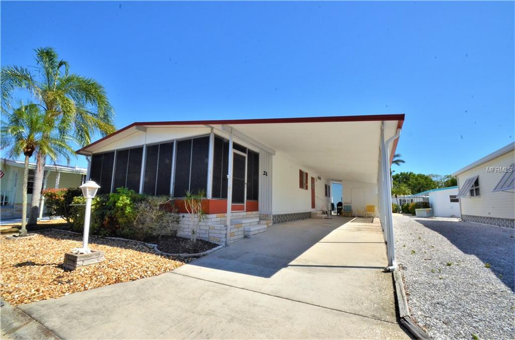 Photo of home for sale at 2107 PALMA SOLA BLVD, Bradenton FL