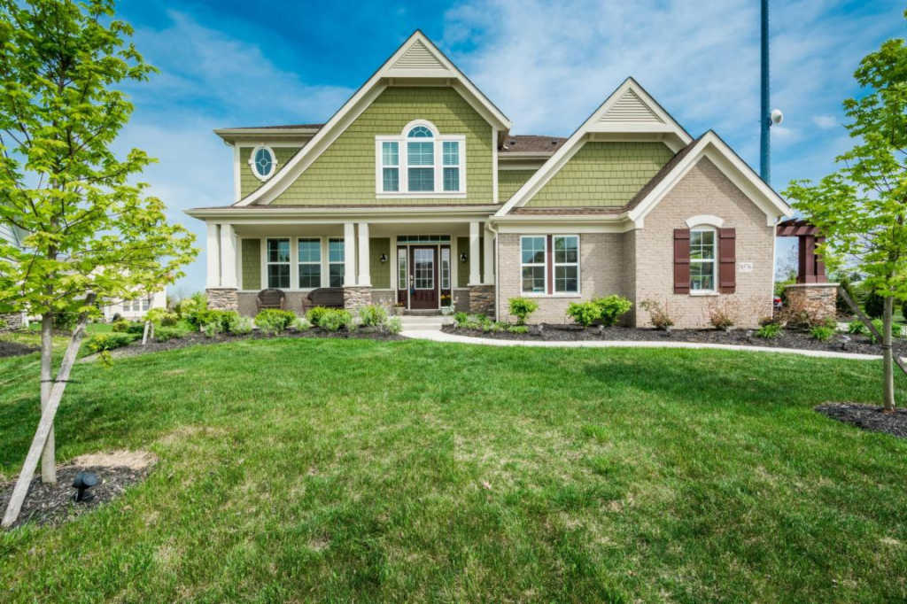 Photo of home for sale at 9576 Crabapple Court, Plain City OH