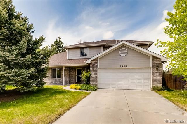 Photo of home for sale at 2425 Redwood Court, Longmont CO
