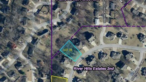 Photo of home for sale at Lot 46 River Hills Drive, Parkville MO