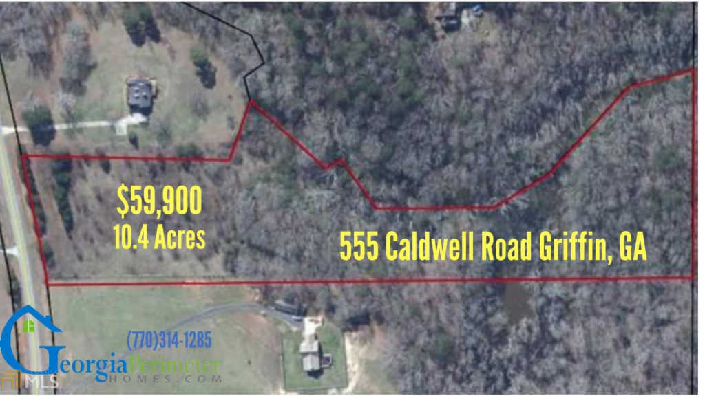 Photo of home for sale at 555 Caldwell Rd, Griffin GA