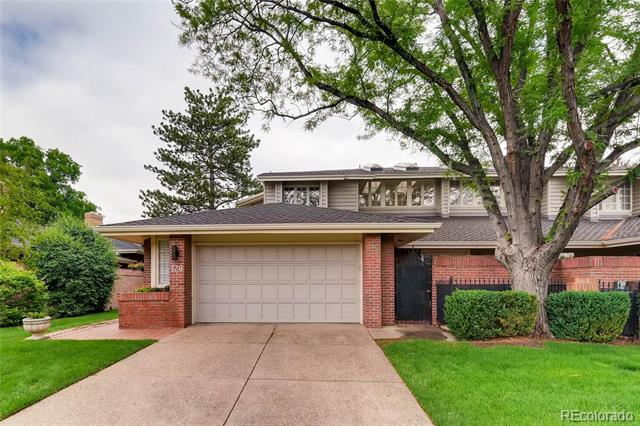 Photo of home for sale at 2552 Alameda Avenue E, Denver CO
