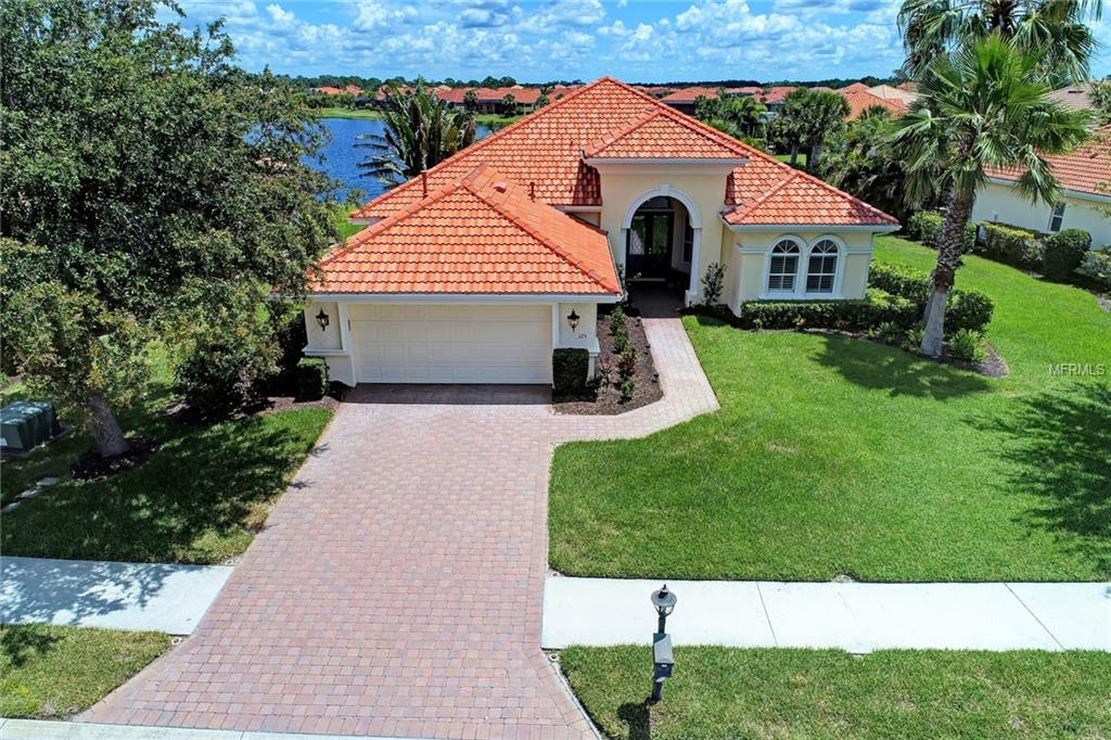 Photo of home for sale at 125 MEDICI TERRACE, North Venice FL