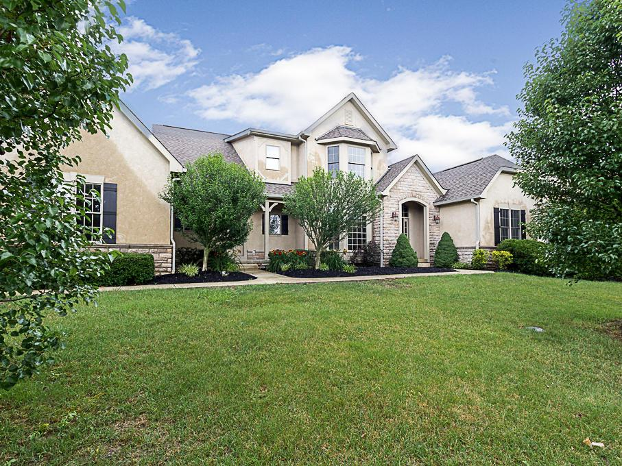 Photo of home for sale at 8408 Rutherford Estates Drive, Powell OH