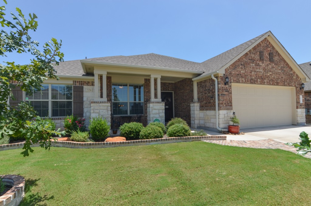 Photo of home for sale at 1828 Cactus Mound DR, Leander TX