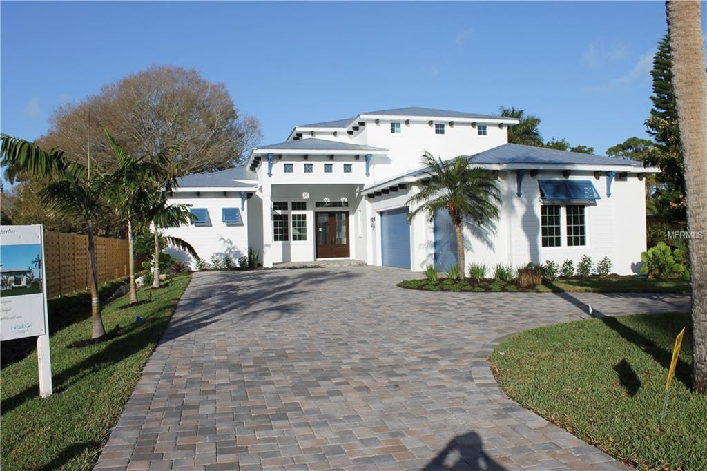 Photo of home for sale at 4010 CAMINO REAL, Sarasota FL