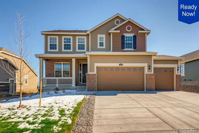 Photo of home for sale at 8164 Vandriver Way South, Aurora CO
