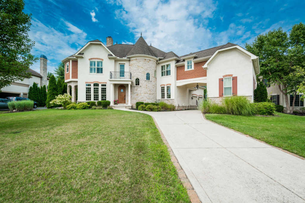 Photo of home for sale at 9095 Tartan Fields Drive, Dublin OH
