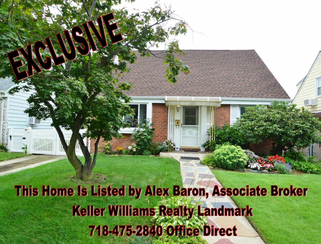 Photo of home for sale at 23-54 206 St, Bayside NY