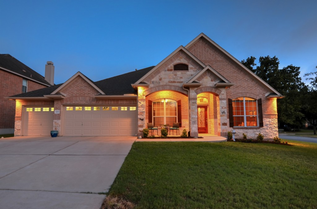 Photo of home for sale at 1207 Valorie CT, Cedar Park TX