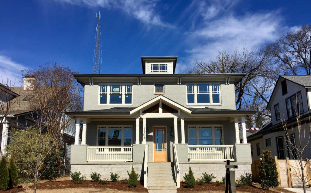Photo of home for sale at 1404 Linden Ave, Nashville TN
