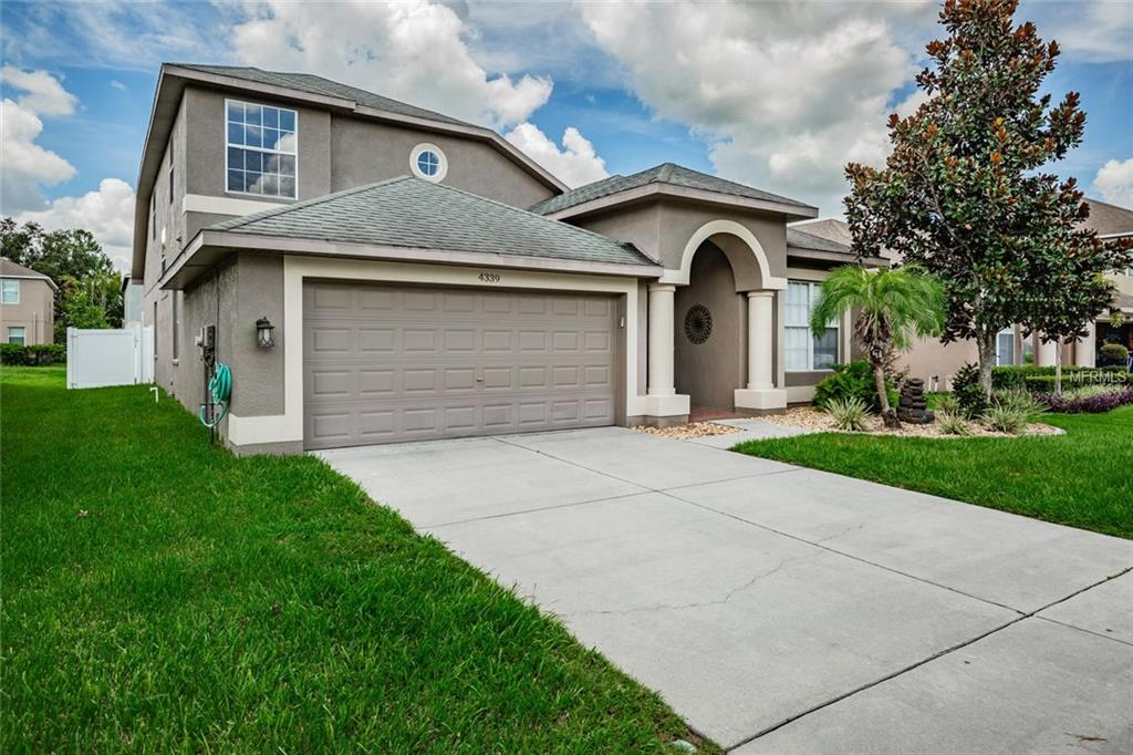 Photo of home for sale at 4339 HUDDLESTONE DRIVE, Wesley Chapel FL