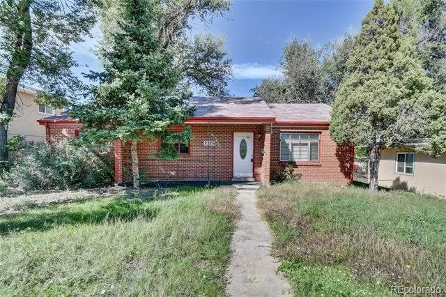 Photo of home for sale at 2326 Union Boulevard North, Colorado Springs CO