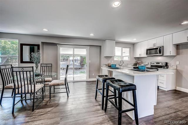 Photo of home for sale at 7308 Cody Street South, Littleton CO