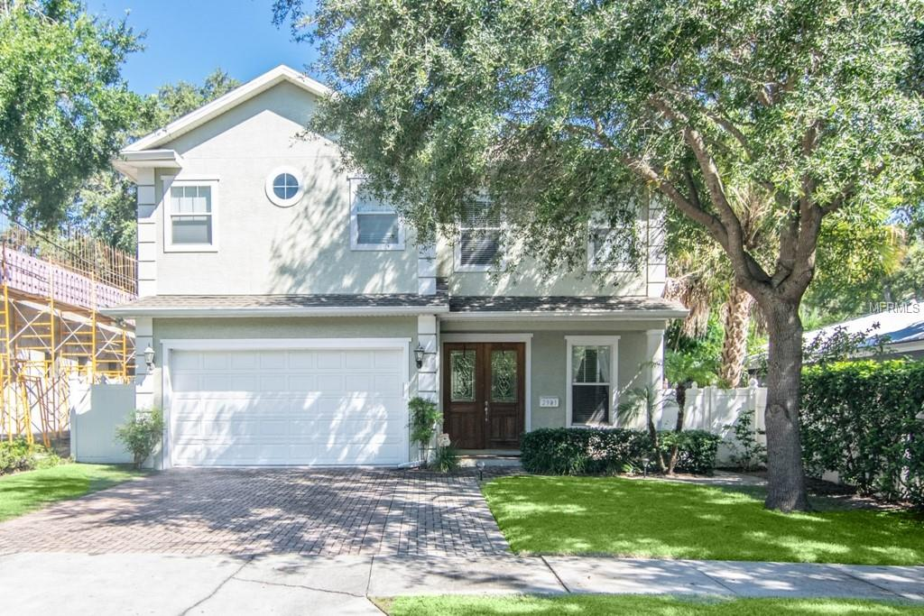Photo of home for sale at 2903 SAN JOSE STREET W, Tampa FL