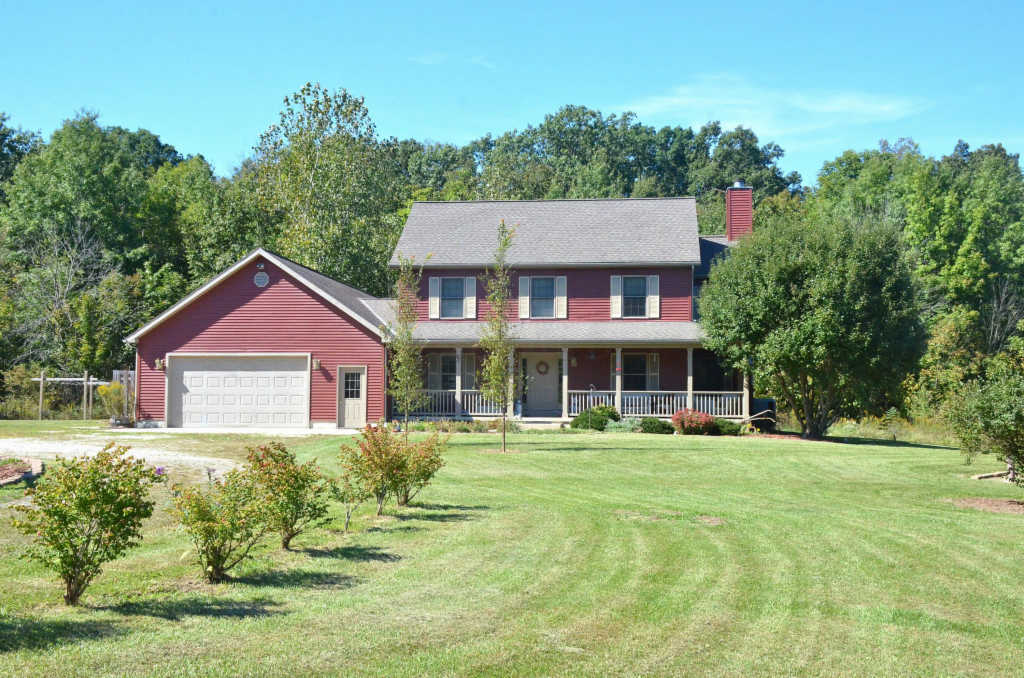 Photo of home for sale at 17915 Bear Swamp Road, Marysville OH