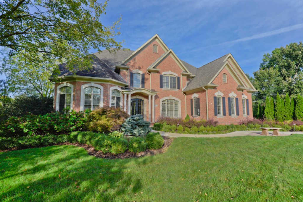 Photo of home for sale at 8015 Balmoral Court, Dublin OH