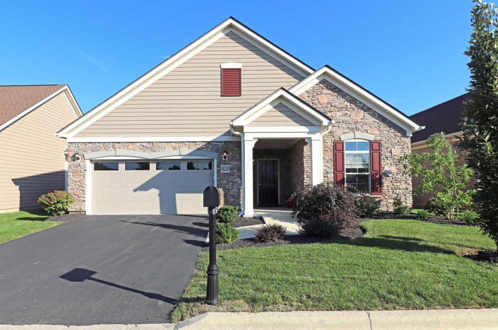 Photo of home for sale at 78 Featherstone Court, Powell OH