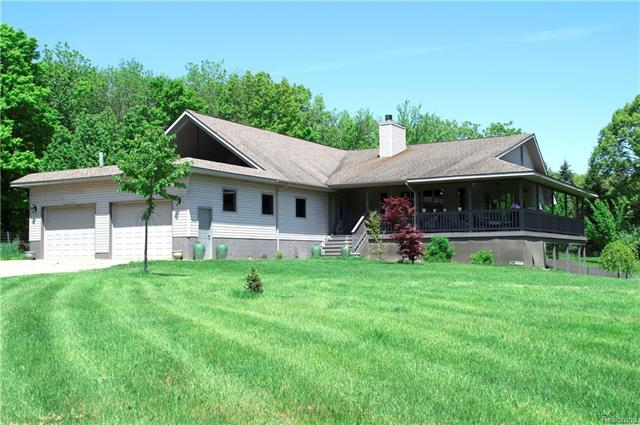 Photo of home for sale at 6274 Washburn Road, Atlas Township MI