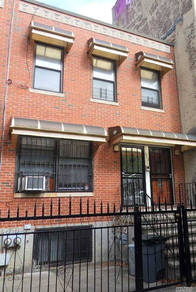 Photo of home for sale at 673 Quincy St, Brooklyn NY