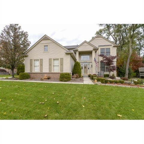 Photo of home for sale at 2048 Applebrook Drive, Commerce Township MI