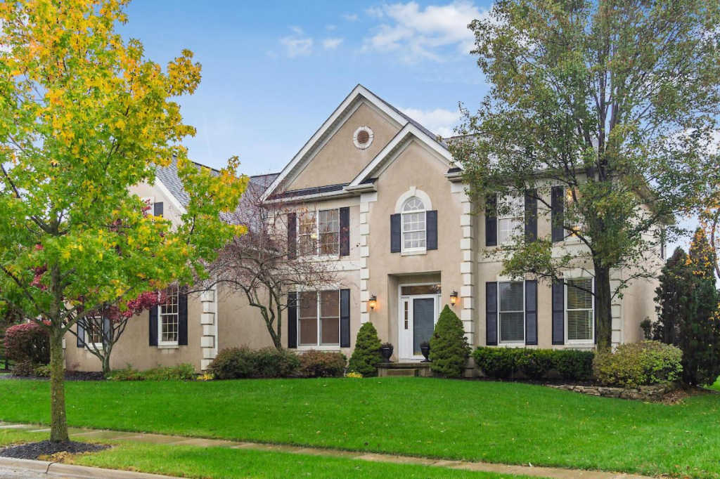 Photo of home for sale at 8209 Timber Mist Court, Dublin OH