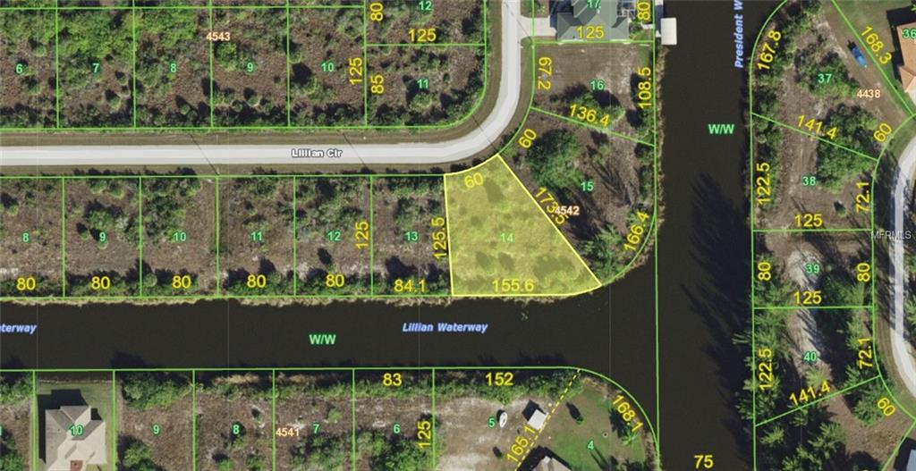 Photo of home for sale at 14686 LILLIAN CIRCLE, Port Charlotte FL