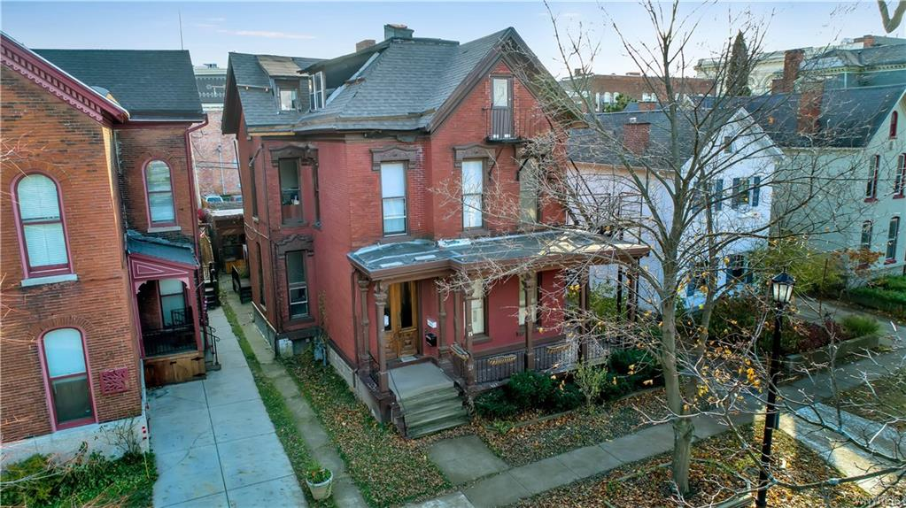 Photo of home for sale at 25 Pearl Street N, Buffalo NY