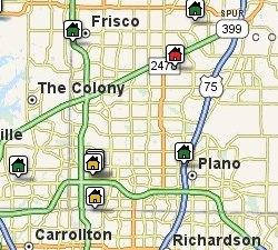 Search Plano, North Texas Listings by Map