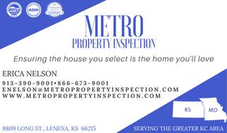 Metro Property Inspection