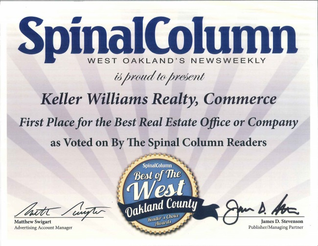 Best Real Estate Office for 2014 and 2015