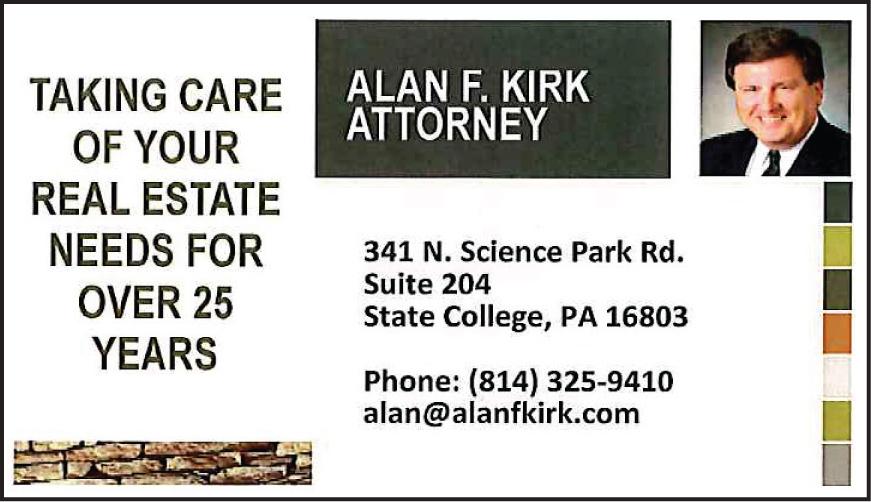 Alan F Kirk Attorney