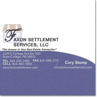 Faxon Settlement