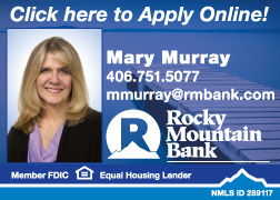 Rocky Mountain Bank Mary Murray