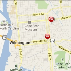 View Wilmington, NC Area Homes for Sale by Map