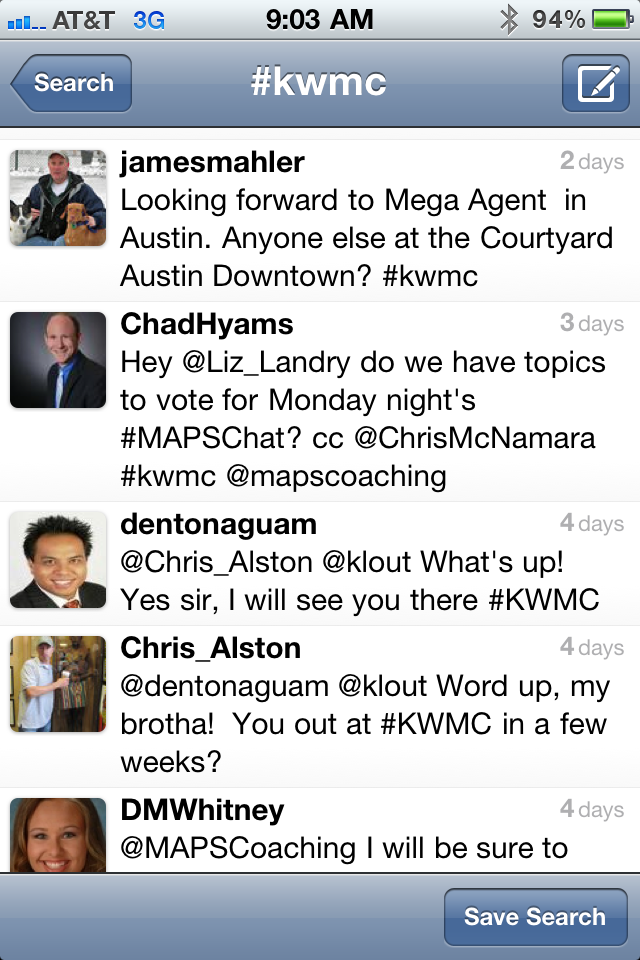 Tweets about Mega Camp using #kwmc